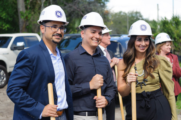 Priano groundbreaking Ready to Work